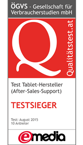 Tablet-Hersteller: Test des After-Sales-Supports 2015