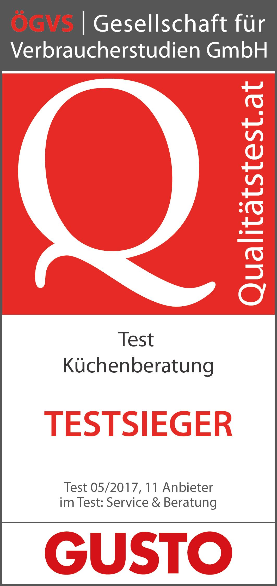 Küchenberatung test  Küchenberatung 2017 | ÖGVS