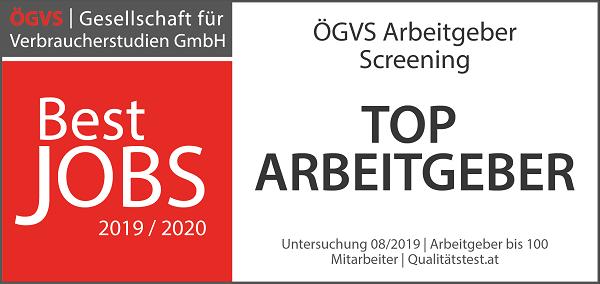 ÖGVS Best Jobs Qualitätssiegel